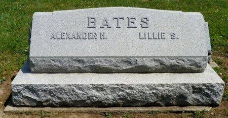 BATES, ALEXANDER H. - Shelby County, Ohio | ALEXANDER H. BATES - Ohio Gravestone Photos