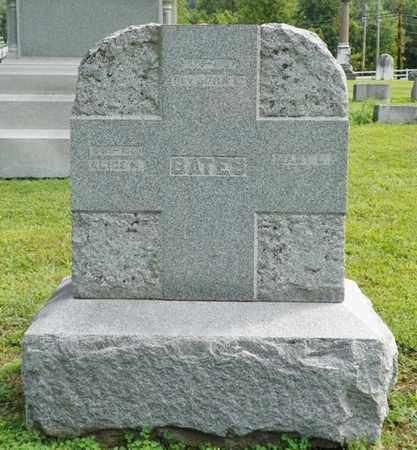 BATES, JOHN L. - Shelby County, Ohio | JOHN L. BATES - Ohio Gravestone Photos