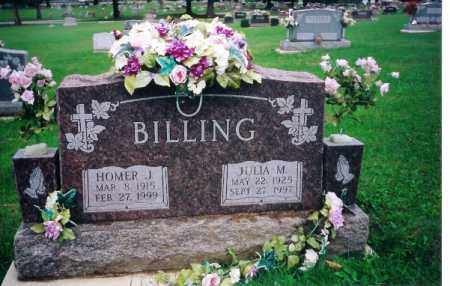 BILLING, JULIA MAE - Shelby County, Ohio | JULIA MAE BILLING - Ohio Gravestone Photos