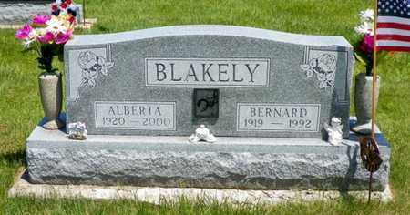 BLAKELY, ALBERTA - Shelby County, Ohio | ALBERTA BLAKELY - Ohio Gravestone Photos