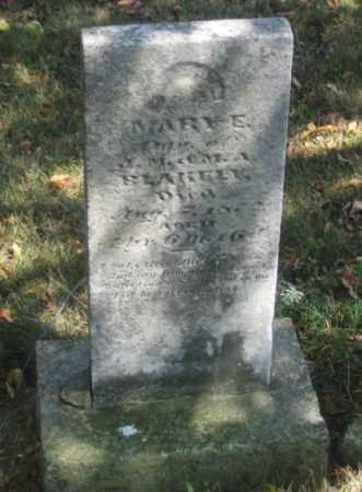 BLAKELY, MARY E. - Shelby County, Ohio | MARY E. BLAKELY - Ohio Gravestone Photos