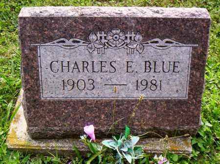 BLUE, CHARLES E. - Shelby County, Ohio | CHARLES E. BLUE - Ohio Gravestone Photos