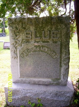 BLUE, MONUMENT - Shelby County, Ohio | MONUMENT BLUE - Ohio Gravestone Photos