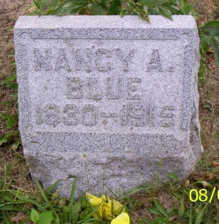 BLUE, NANCY A. - Shelby County, Ohio | NANCY A. BLUE - Ohio Gravestone Photos