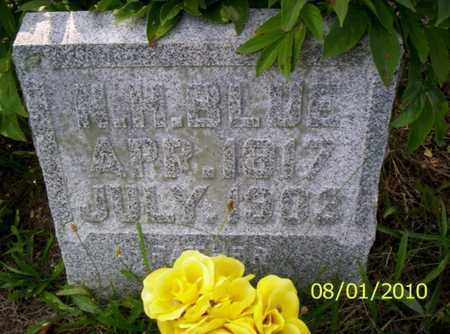 BLUE, N. H. - Shelby County, Ohio | N. H. BLUE - Ohio Gravestone Photos