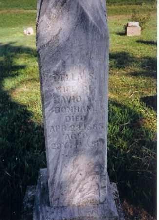 BONHAM, DELLA S - Shelby County, Ohio | DELLA S BONHAM - Ohio Gravestone Photos