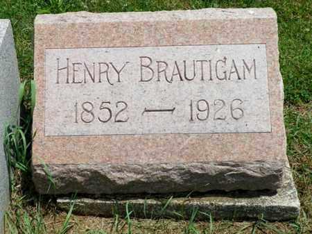 BRAUTIGAM, HENRY - Shelby County, Ohio | HENRY BRAUTIGAM - Ohio Gravestone Photos