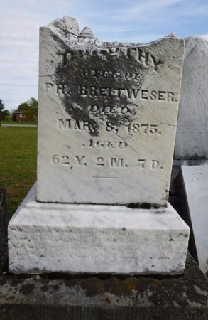 BREITWESER/BRIDEWEESER, DOROTHY - Shelby County, Ohio | DOROTHY BREITWESER/BRIDEWEESER - Ohio Gravestone Photos