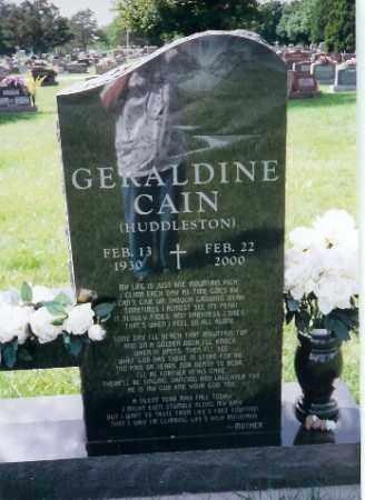 CAIN, GERALDINE - Shelby County, Ohio | GERALDINE CAIN - Ohio Gravestone Photos