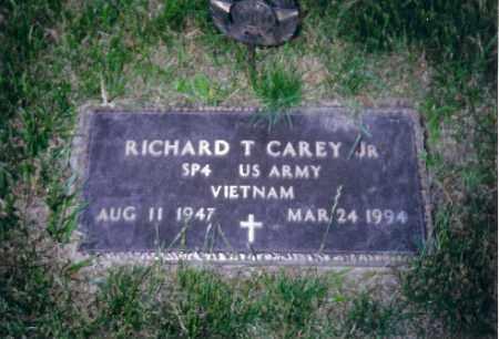 CAREY JR., RICHARD T - Shelby County, Ohio | RICHARD T CAREY JR. - Ohio Gravestone Photos