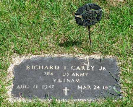 CAREY, RICHARD T. JR. - Shelby County, Ohio | RICHARD T. JR. CAREY - Ohio Gravestone Photos