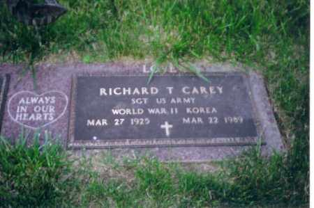 CAREY, SR., RICHARD T - Shelby County, Ohio | RICHARD T CAREY, SR. - Ohio Gravestone Photos
