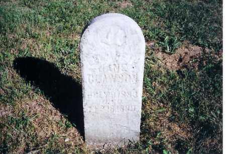 CLAWSON, ELIZABETH JANE - Shelby County, Ohio | ELIZABETH JANE CLAWSON - Ohio Gravestone Photos