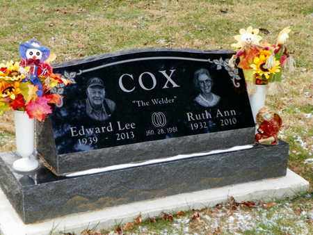 COX, RUTH ANN - Shelby County, Ohio | RUTH ANN COX - Ohio Gravestone Photos