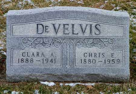 DEVELVIS, CHRIS E. - Shelby County, Ohio | CHRIS E. DEVELVIS - Ohio Gravestone Photos
