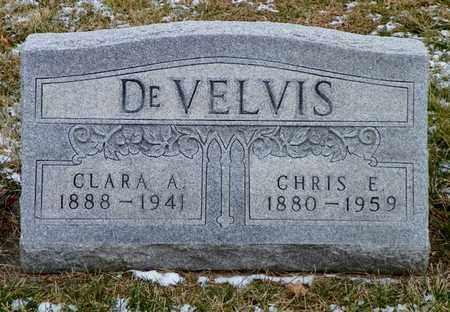 DEVELVIS, CLARA A. - Shelby County, Ohio | CLARA A. DEVELVIS - Ohio Gravestone Photos