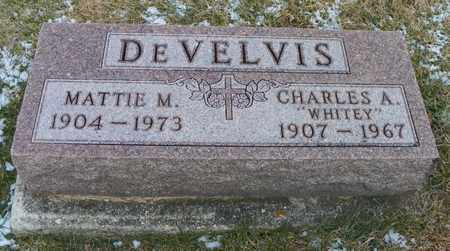 DEVELVIS, MATTIE M. - Shelby County, Ohio | MATTIE M. DEVELVIS - Ohio Gravestone Photos