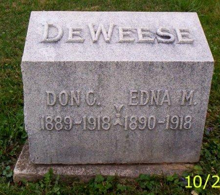 DEWEESE, DON C. - Shelby County, Ohio   DON C. DEWEESE - Ohio Gravestone Photos