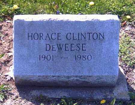 DEWEESE, HORACE CLINTON - Shelby County, Ohio | HORACE CLINTON DEWEESE - Ohio Gravestone Photos