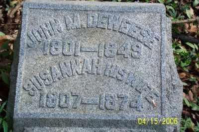 DEWEESE, JOHN M. - Shelby County, Ohio   JOHN M. DEWEESE - Ohio Gravestone Photos