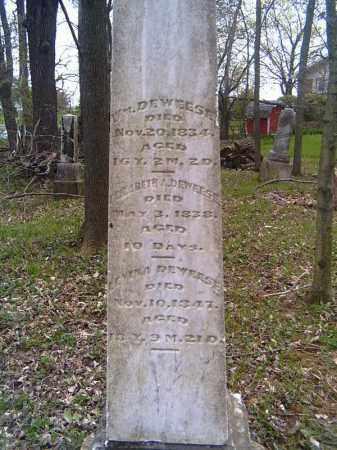 DEWEESE, WILLIAM - Shelby County, Ohio | WILLIAM DEWEESE - Ohio Gravestone Photos
