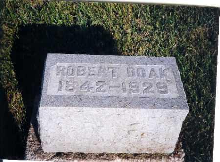 DOAK, ROBERT - Shelby County, Ohio | ROBERT DOAK - Ohio Gravestone Photos