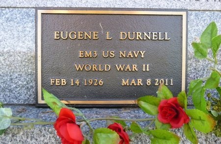 DURNELL, EUGENE L - Shelby County, Ohio | EUGENE L DURNELL - Ohio Gravestone Photos