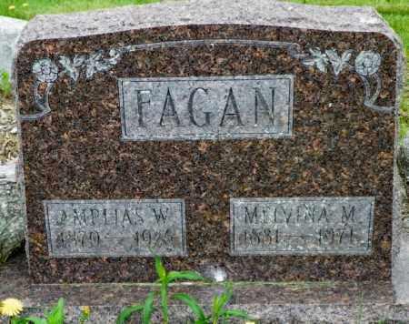 FAGAN, AMPLIAS W. - Shelby County, Ohio   AMPLIAS W. FAGAN - Ohio Gravestone Photos