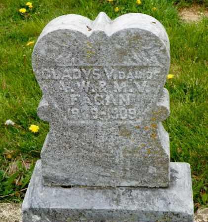FAGAN, GLADYS - Shelby County, Ohio   GLADYS FAGAN - Ohio Gravestone Photos