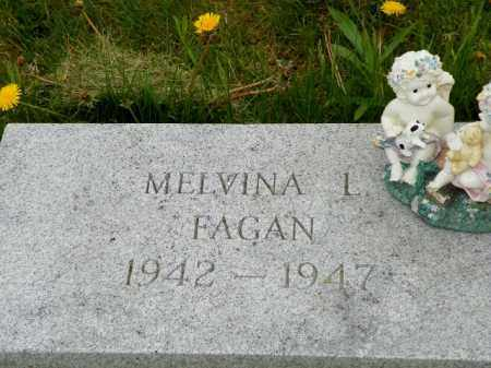 FAGAN, MELVINA L. - Shelby County, Ohio | MELVINA L. FAGAN - Ohio Gravestone Photos