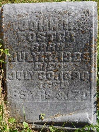 FOSTER, JOHN H - Shelby County, Ohio | JOHN H FOSTER - Ohio Gravestone Photos