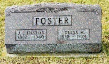 FOSTER, LOUISA M. - Shelby County, Ohio | LOUISA M. FOSTER - Ohio Gravestone Photos