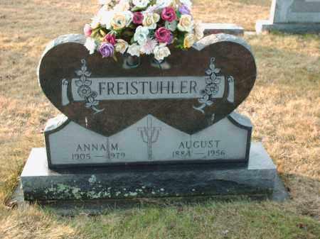 FREISTUHLER, ANNA M - Shelby County, Ohio   ANNA M FREISTUHLER - Ohio Gravestone Photos