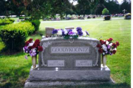 GOODYKOONTZ, LEE - Shelby County, Ohio | LEE GOODYKOONTZ - Ohio Gravestone Photos