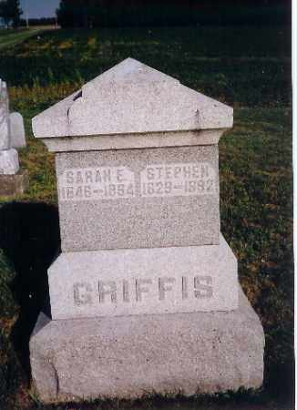 GRIFFIS, STEPHEN - Shelby County, Ohio   STEPHEN GRIFFIS - Ohio Gravestone Photos