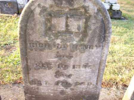 HENRY, RICHARD - Shelby County, Ohio   RICHARD HENRY - Ohio Gravestone Photos
