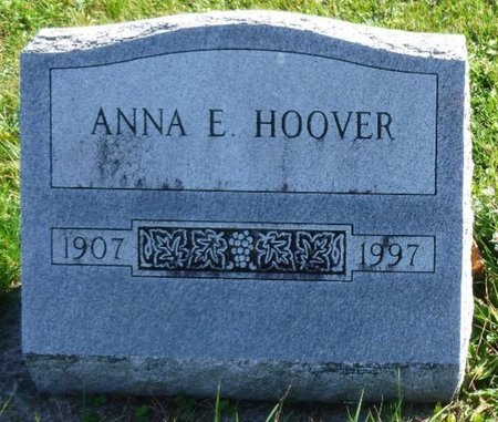 HOOVER, ANNA ELIZABETH - Shelby County, Ohio | ANNA ELIZABETH HOOVER - Ohio Gravestone Photos