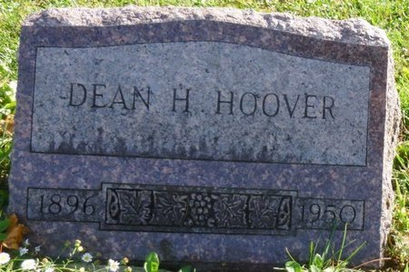 HOOVER, DEAN HARRISON - Shelby County, Ohio | DEAN HARRISON HOOVER - Ohio Gravestone Photos