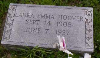 HOOVER, LAURA EMMA - Shelby County, Ohio | LAURA EMMA HOOVER - Ohio Gravestone Photos