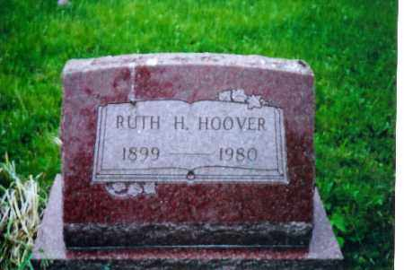 HOOVER, RUTH H. - Shelby County, Ohio   RUTH H. HOOVER - Ohio Gravestone Photos
