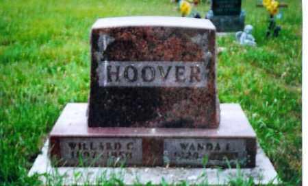 HOOVER, WILLARD C. - Shelby County, Ohio   WILLARD C. HOOVER - Ohio Gravestone Photos