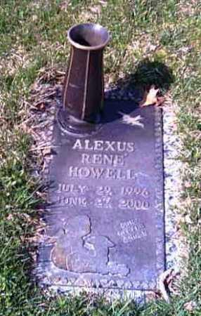 HOWELL, ALEXUS RENE - Shelby County, Ohio | ALEXUS RENE HOWELL - Ohio Gravestone Photos
