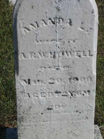 HOWELL, AMANDA L. - Shelby County, Ohio | AMANDA L. HOWELL - Ohio Gravestone Photos