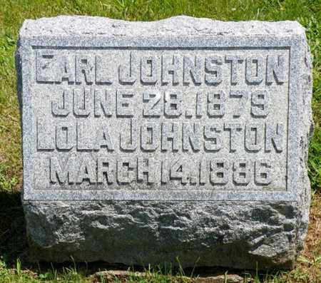 JOHNSTON, LOLA - Shelby County, Ohio | LOLA JOHNSTON - Ohio Gravestone Photos