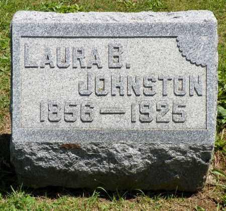JOHNSTON, LAURA B. - Shelby County, Ohio | LAURA B. JOHNSTON - Ohio Gravestone Photos