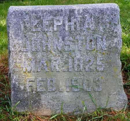 JOHNSTON, LEPHIA - Shelby County, Ohio | LEPHIA JOHNSTON - Ohio Gravestone Photos