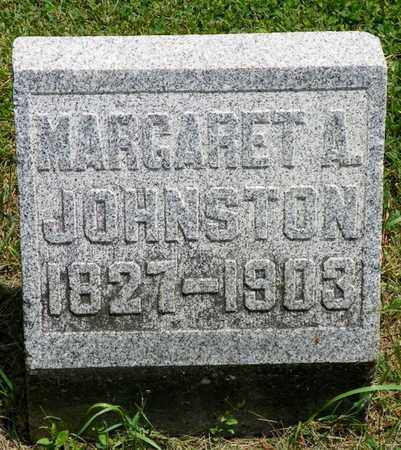 JOHNSTON, MARGARET A. - Shelby County, Ohio | MARGARET A. JOHNSTON - Ohio Gravestone Photos