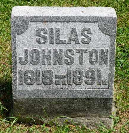 JOHNSTON, SILAS - Shelby County, Ohio | SILAS JOHNSTON - Ohio Gravestone Photos
