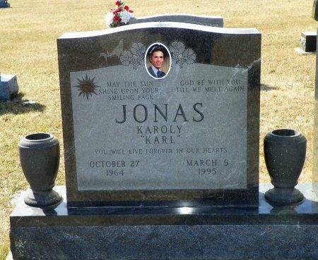 """JONAS, KAROLY """"KARL"""" - Shelby County, Ohio   KAROLY """"KARL"""" JONAS - Ohio Gravestone Photos"""
