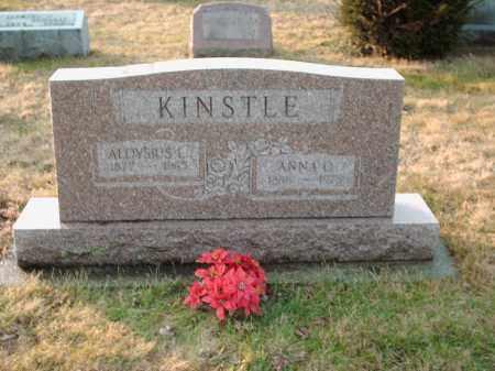 KINSTLE, ANNA - Shelby County, Ohio   ANNA KINSTLE - Ohio Gravestone Photos
